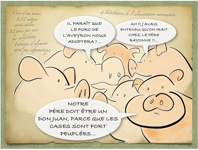 Rigal porcs père Bayonne