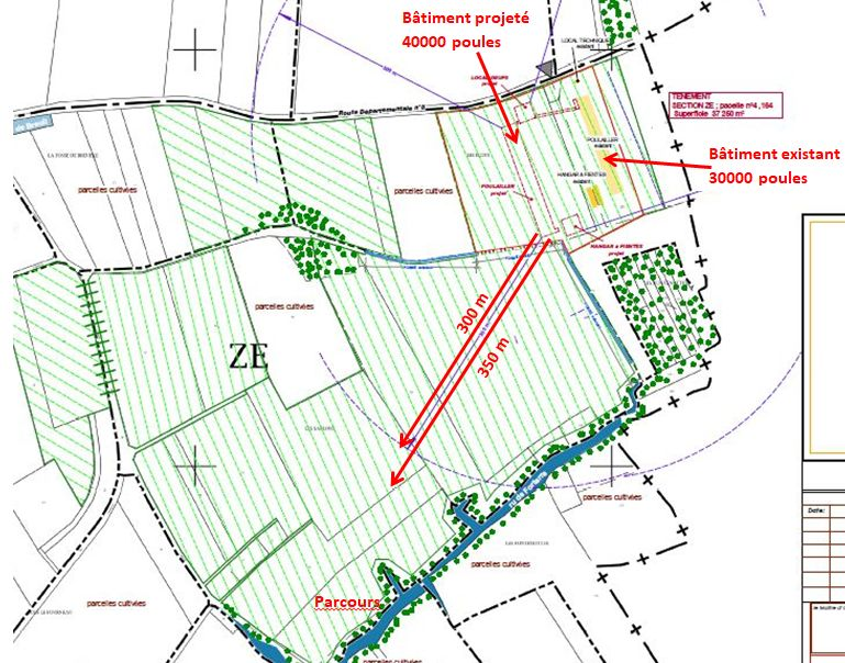 plan parcours Varennes